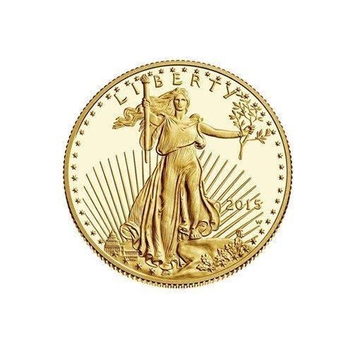 Zlatá investiční mince American Eagle 1/10 Oz 2015
