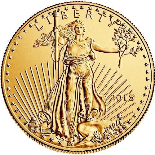 Zlatá investiční mince - American Eagle 1 oz 2015