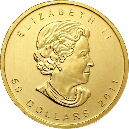 Zlatá investiční mince - Maple Leaf 1 Oz