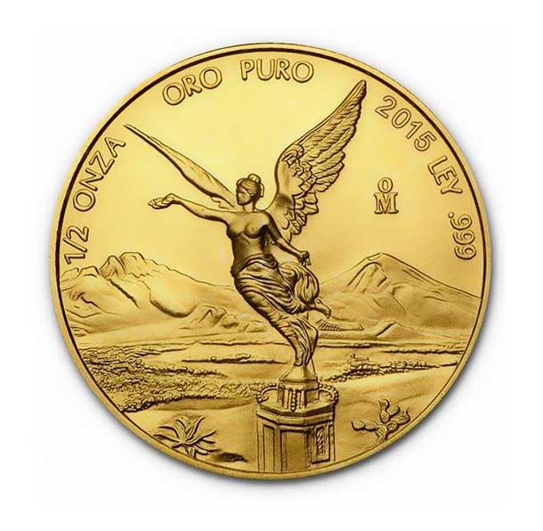 Zlatá investiční mince - Libertad 1/2 Oz 2015