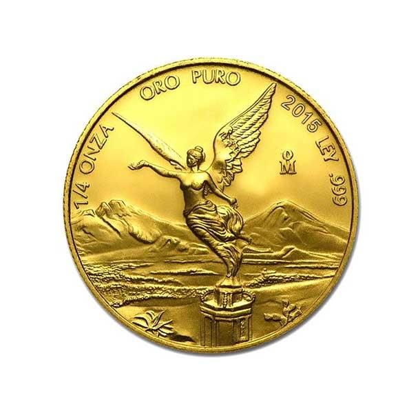 Zlatá investiční mince - Libertad 1/4 Oz 2015