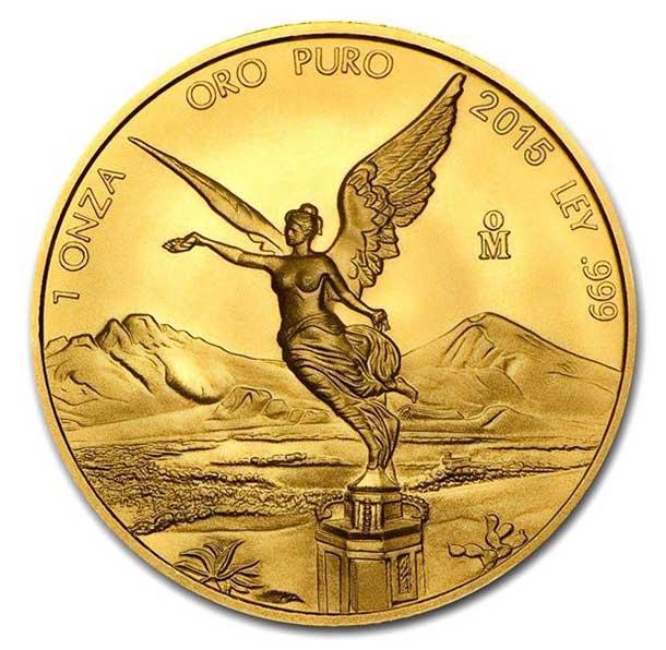 Zlatá investiční mince - Libertad 1 Oz 2015