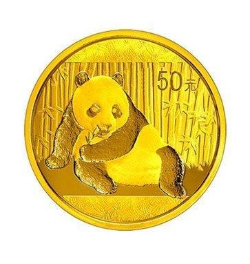Zlatá investiční mince Panda 3 gr 2017