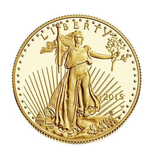 Zlatá investiční mince - American Eagle 1/2 oz 2015