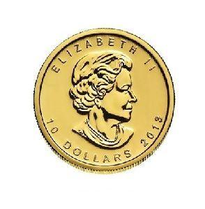 Zlatá investiční mince - Maple Leaf 1/4 Oz