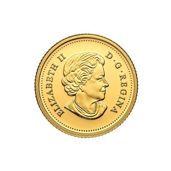 Zlatá investiční mince - Maple Leaf 1/20 Oz