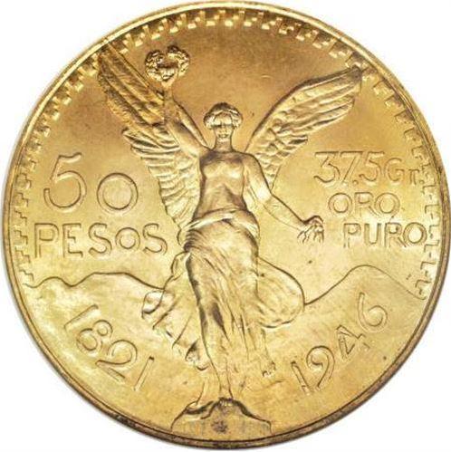 Zlatá investiční mince - Mexiko 50 Peso