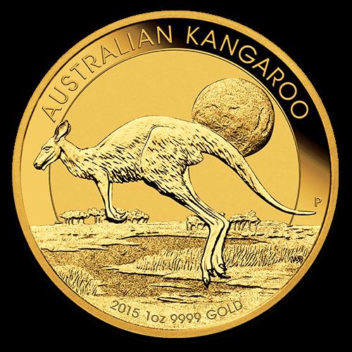 Zlatá investiční mince - Kangaroo 1 Oz 2015